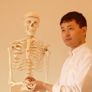骨格模型ヘンリーくんといちろーたの写真