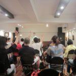 学習会の様子(2013年7月6日開催)