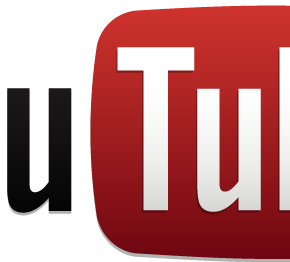 YouTube標準ロゴ(白地)