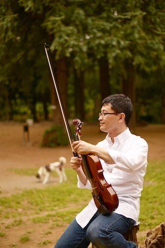 バイオリンちょっとひとやすみ
